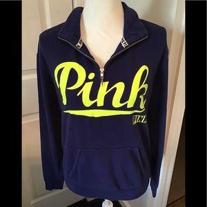 PINK Victoria's Secret Navy Blue Sweatshirt
